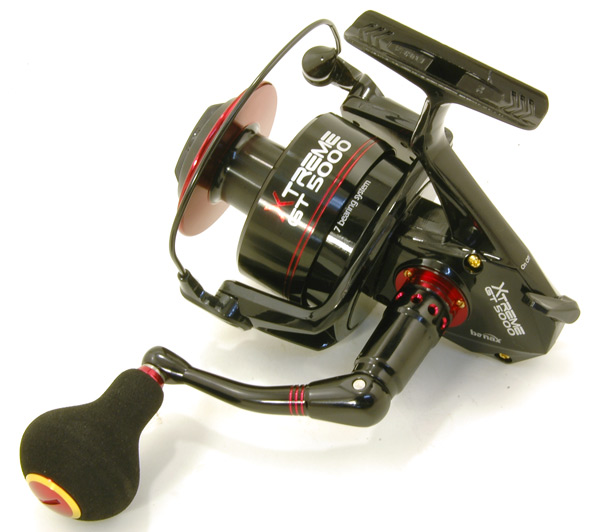 Banax extreme gt 5000 heavy duty spinning reel ebay for Heavy duty fishing reels